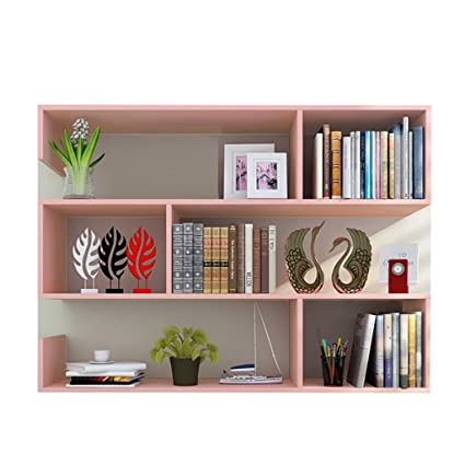 ALUS Wall Shelf Simple Student Bookshelf Modern Hanging Creative Partition Wine Rack Decorative