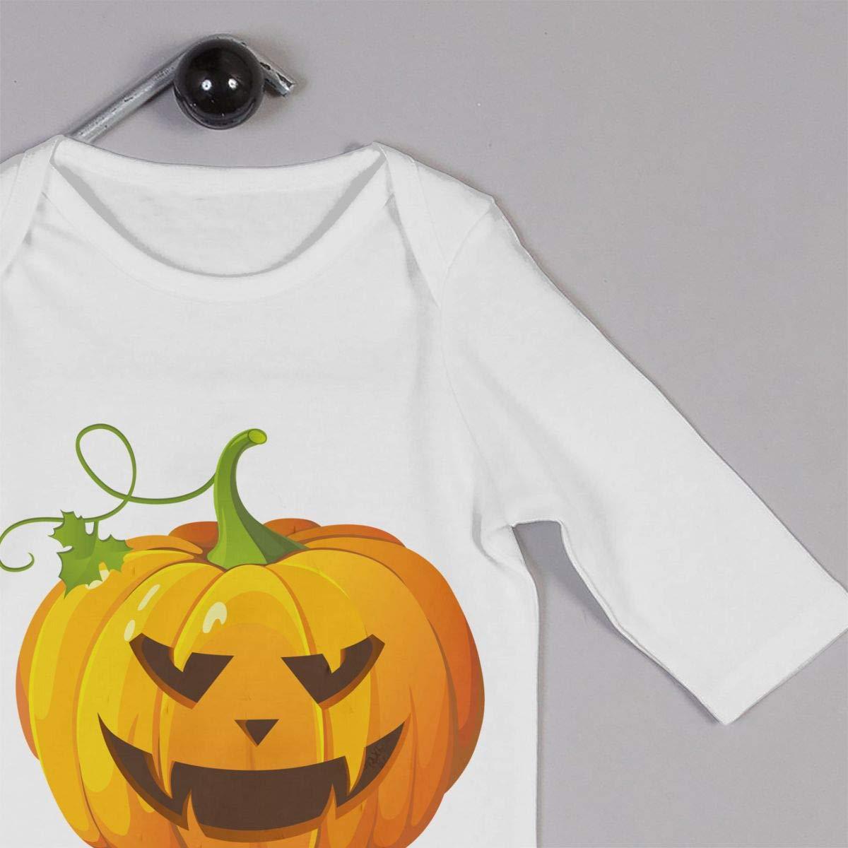 Newborn Baby Coverall Halloween Pumpkin Toddler Jumpsuit