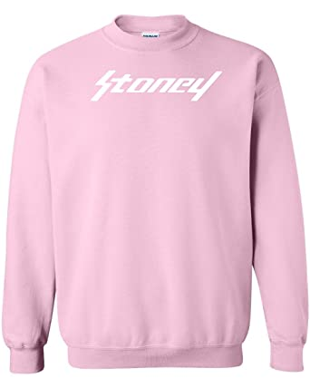 Post Malone Stoney Pink Logo Hoodie Hip Hop Rap Hooded