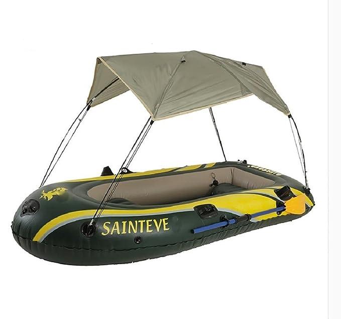 sgtrehyc - Barco Inflable para 2 Personas, Kayak, Pesca ...