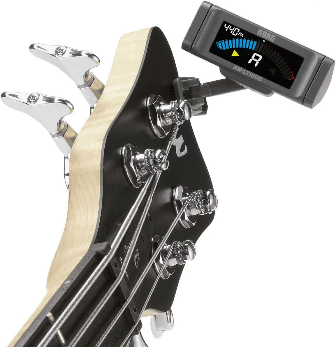 Korg AW-LT100 B - Afinador cromático, color negro: Amazon.es ...