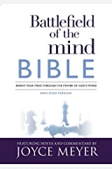 Battlefield of the Mind Bible: Renew Your Mind Through the Power of God's Word Hardcover
