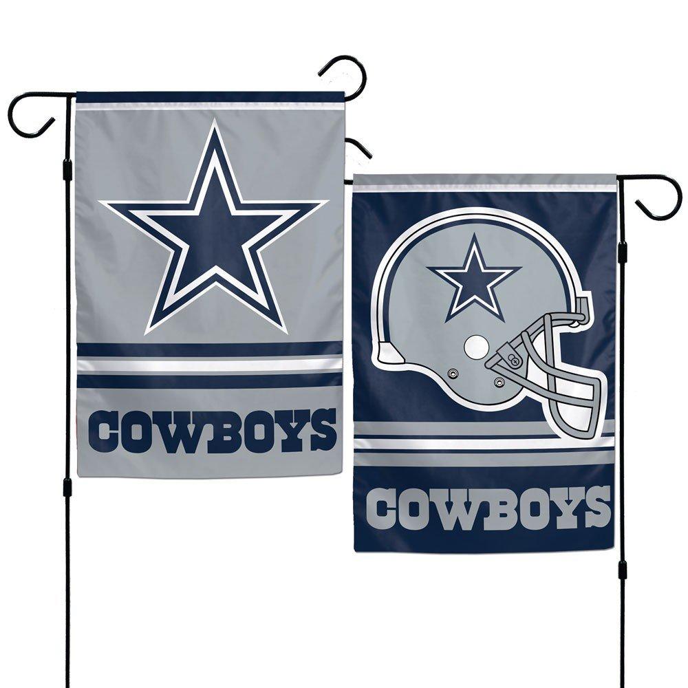 Dallas Cowboys Polyester 12''X18'' 2 SIDED Garden Yard Wall Flag Wincraft