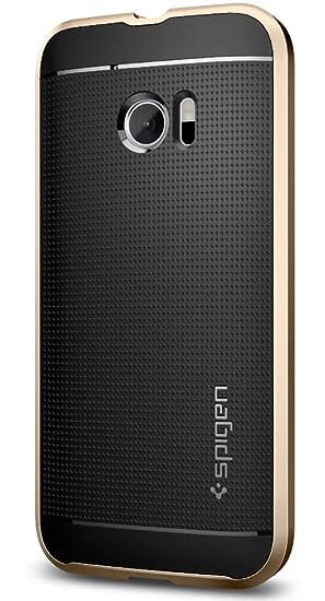 spigen Funda HTC 10, [Marco de policarbonato] Carcasa para HTC 10 - Champagne Gold (H09CS20289)