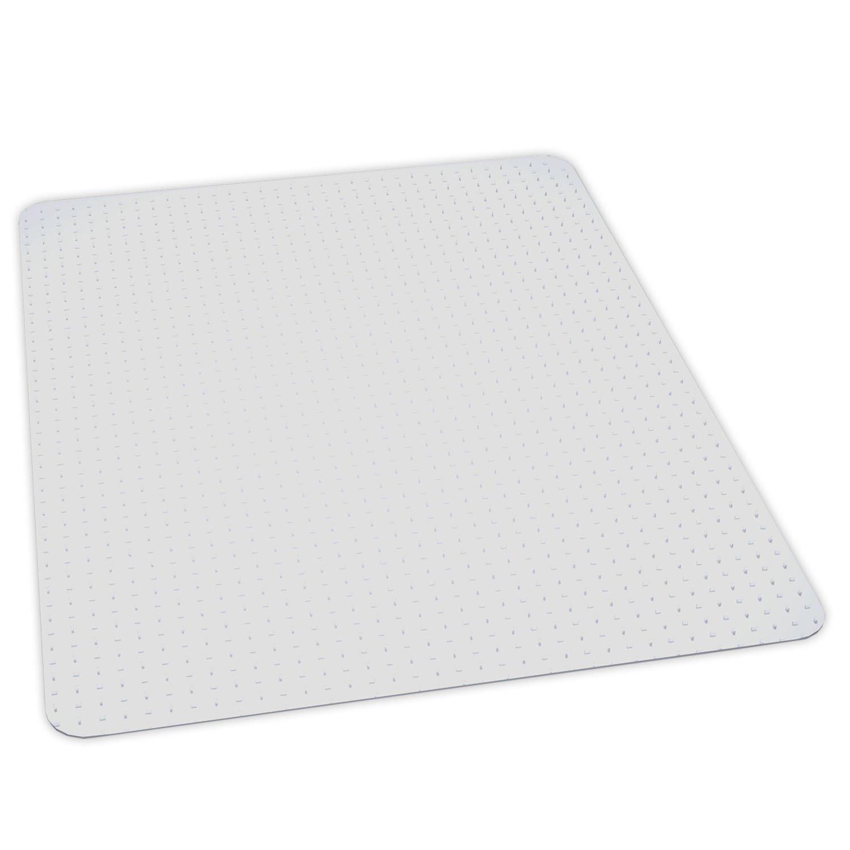 ES Robbins EverLife Anchor Bar Rectangle Vinyl Chair Mat for Medium Pile Carpet, 36 by 48-Inch, Clear 122071
