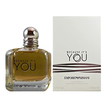 Image Unavailable. Image not available for. Color  Emporio Armani Because  It s You ... 9bbf55f862