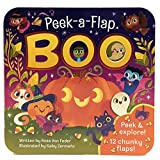 img - for Boo: Peek-a-Flap Board Book book / textbook / text book