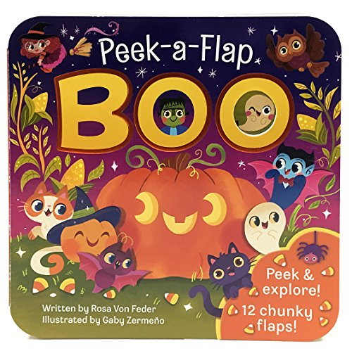 Boo: Peek-a-Flap Board Book - Boo.com Boo
