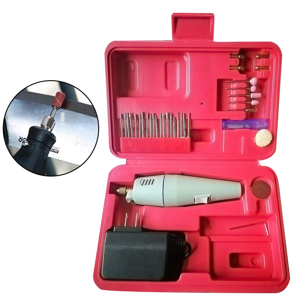 Rotary Tool Kit, Mini Electric Drill with, Mini Rotary tool kit,Electric Rotary Drill, Sander, Grinder, Cutting & Polishing Tool Universal Accessory Set - Electric Rotary Drill