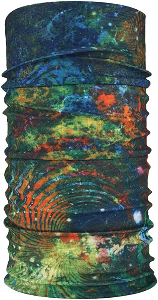 staubdicht und waschbar Elastische Nahtlose Face Shields RYTEJFES Bedrucktes Multifunktionstuch Herren /& Damen Winddicht Schlauchtuch Bandana Kopftuch Halstuch