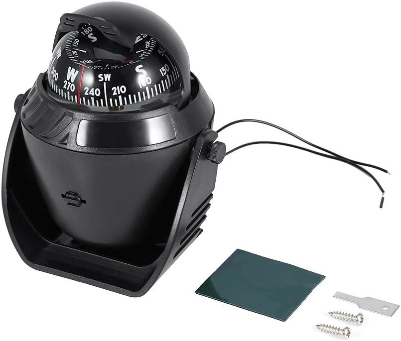 Digital Dashboard Auto Boot Kompass mit Led Licht Nachtsicht Travel Voyager Sea Compass Trip Guide Ball Kompass Yosoo Health Gear Marine Kompass Marine Milit/är Kompass Navigation