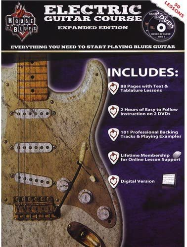 House Of Blues Electric Guitar Course. Partituras, 2 x DVD (Región ...
