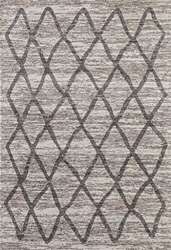 Dara 4105 Ivory Modern 8 x 10 Area Rug Carpet Large New by Dara-Rugs