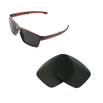 d706a9ab18 Walleva Replacement Lenses for Oakley Sliver F Sunglasses - Multiple  Options Available (Black - Polarized