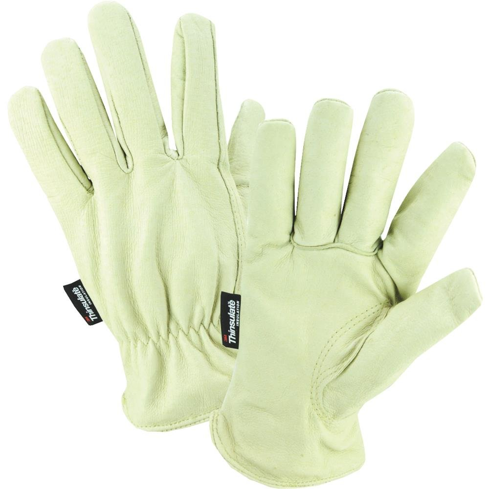 WEST CHESTER 94400//L Pigskin Glove Large Green