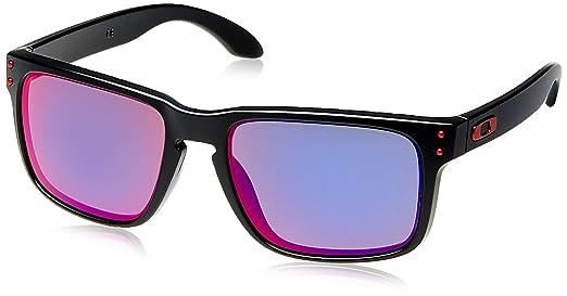 133 opinioni per Oakley MOD. 9102, Occhiale da Sole, Matte Black/Positive Red Iridium, Taglia