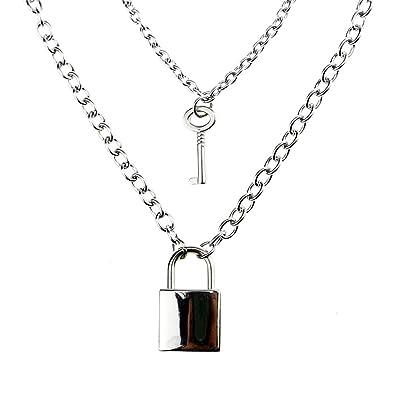 Amazon.com: Summer-lavender - 1 par de cadenas de acero ...