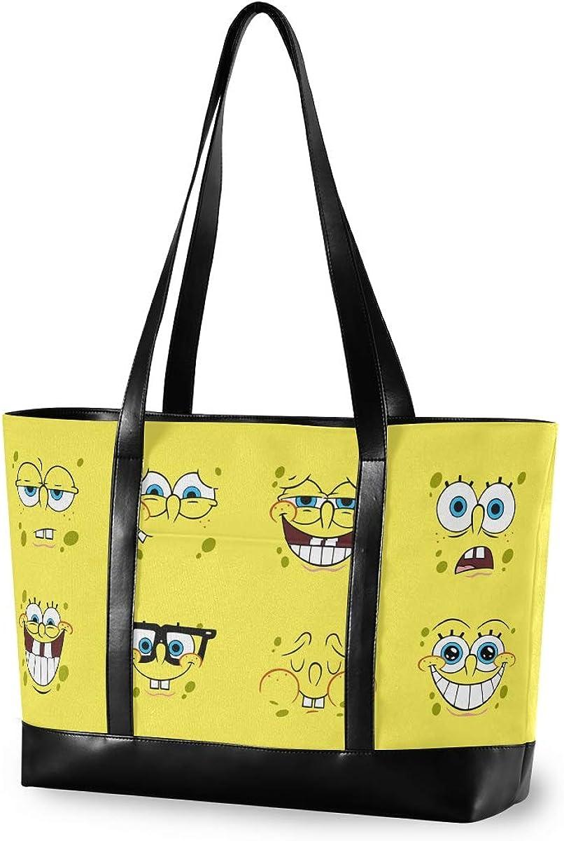 Women Canvas Handbags Shoulder Tote Bag Top Handle Satchel Large Capacity Bags Laptop bag Tablet bag