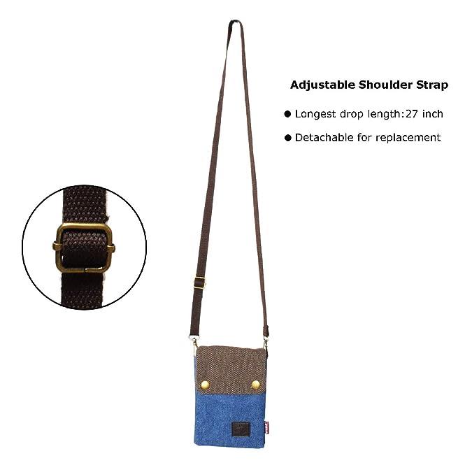 Amazon.com: Witery - Bolso bandolera para mujer, diseño de ...