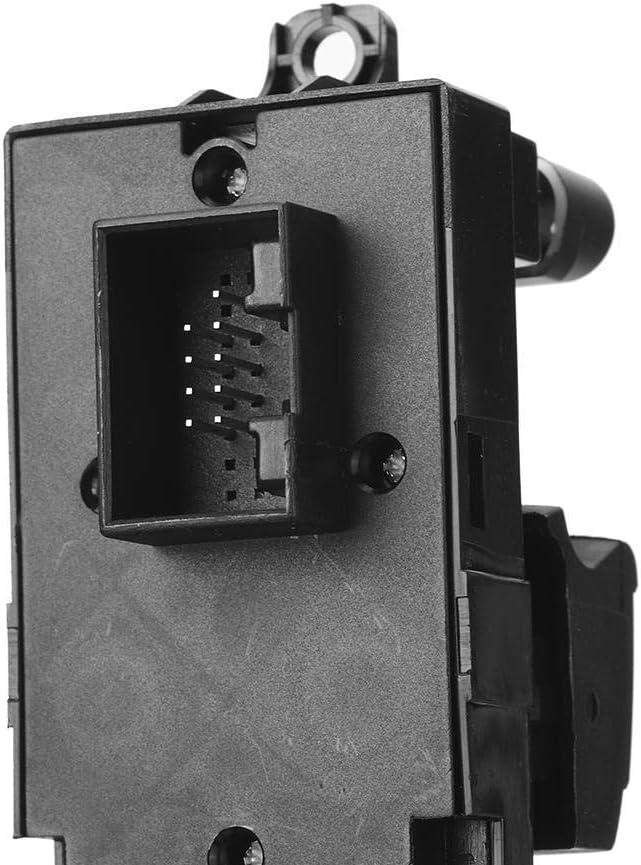 KIMISS ABS Interruptor de ventana Interruptor de ventana de encendido del coche Accesorios de repuesto 1J3959857B para A4 1999-2006