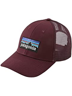 0950c8aa5 Amazon.com: Patagonia P6 Trucker Hat, Navy Blue: Sports & Outdoors