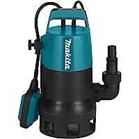 Makita PF0410 - Bomba sumergible eléctrica (aguas residuales con partículas de 35 mm, 400 W) [Importado de Alemania]