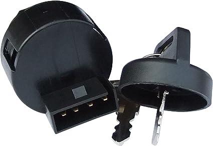 4 Pins Plug Ignition Key Switch for Polaris ATV,Scrambler 500 2X4 2000-2001