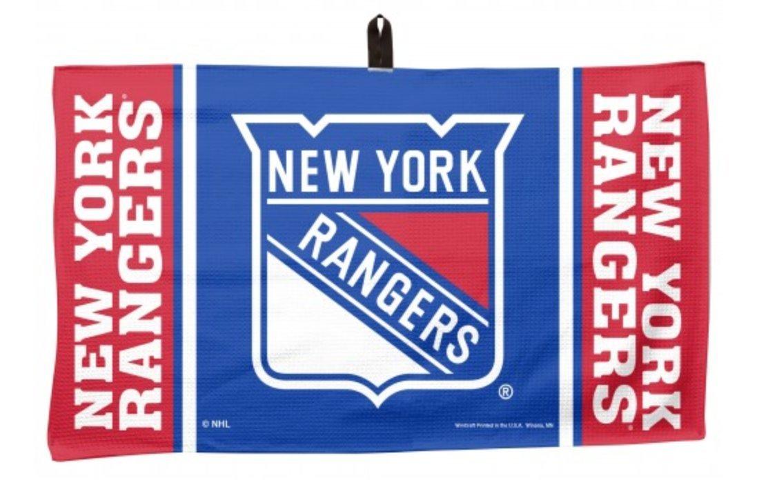 WinCraft NHL New York Rangers 14 x 24 inch Golf Waffle Towel by