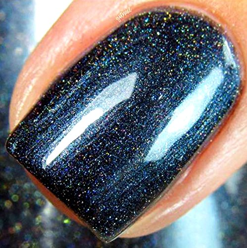 Amazon.com: Navy Blue Linear Holographic Nail Polish - Free U.S. ...