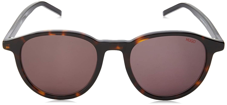 Sunglasses Hugo hug Hg 1028 //S 0AB8 Havana Gray//IR gray blue lens
