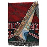 """Warner Brothers National Lampoons' Christmas Vacation,Pile of Gifts Woven Tapestry Throw Blanket, 48"""" x 60"""""""