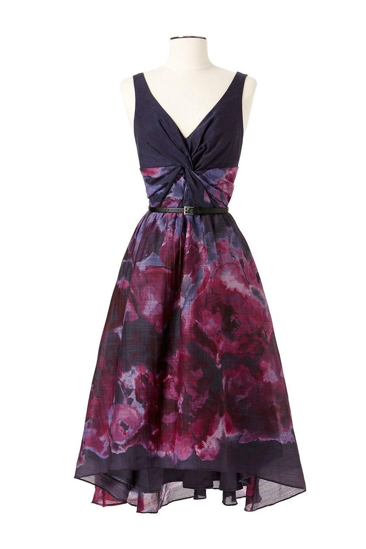 Amazon.com: Neiman Marcus Watercolor dress: Clothing