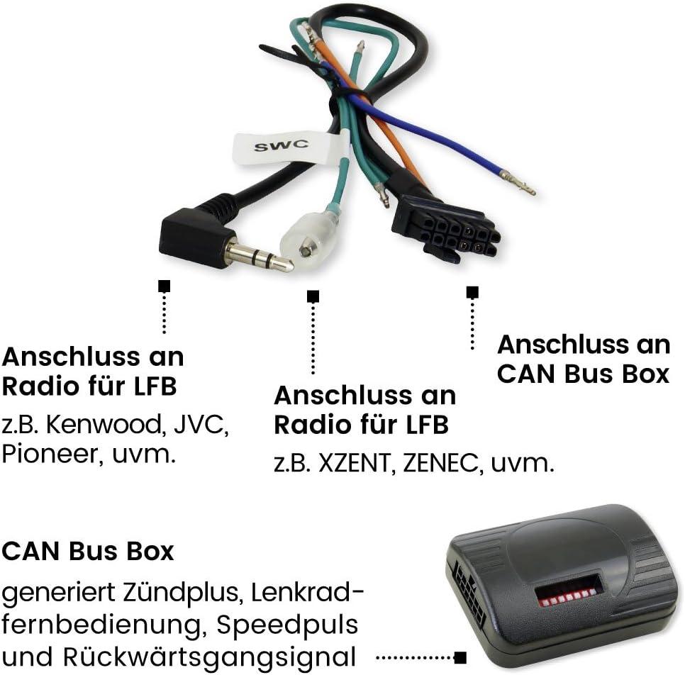 Morebasics Car Can Bus Und Lenkradfernbedienungs Interface Elektronik
