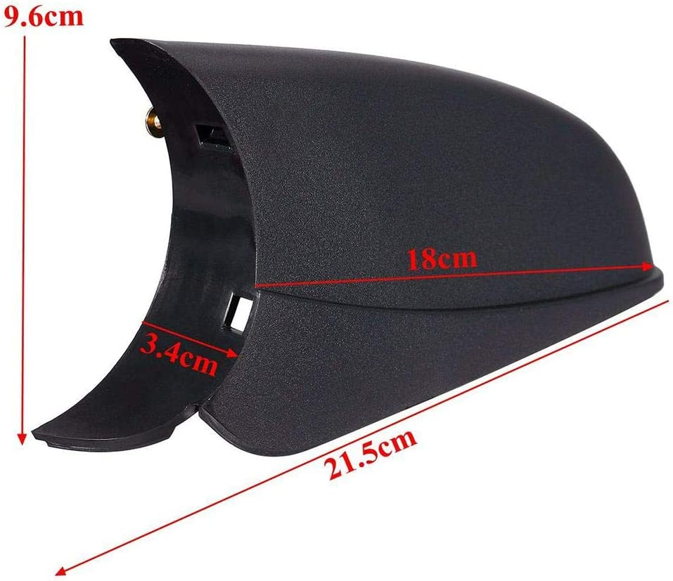 Right /&Left Chalkalon Wing Mirror Cover Wing Mirror Cover Lower Holder Base For Vauxhall For Opel Astra H MK5 04-09 1 Pair