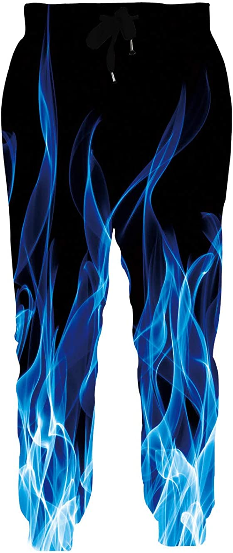 Unisex Novelty 3D Graphic Jogger Pants Sport Active Cool Trousers Baggy Casual Sweatpants S-XXL