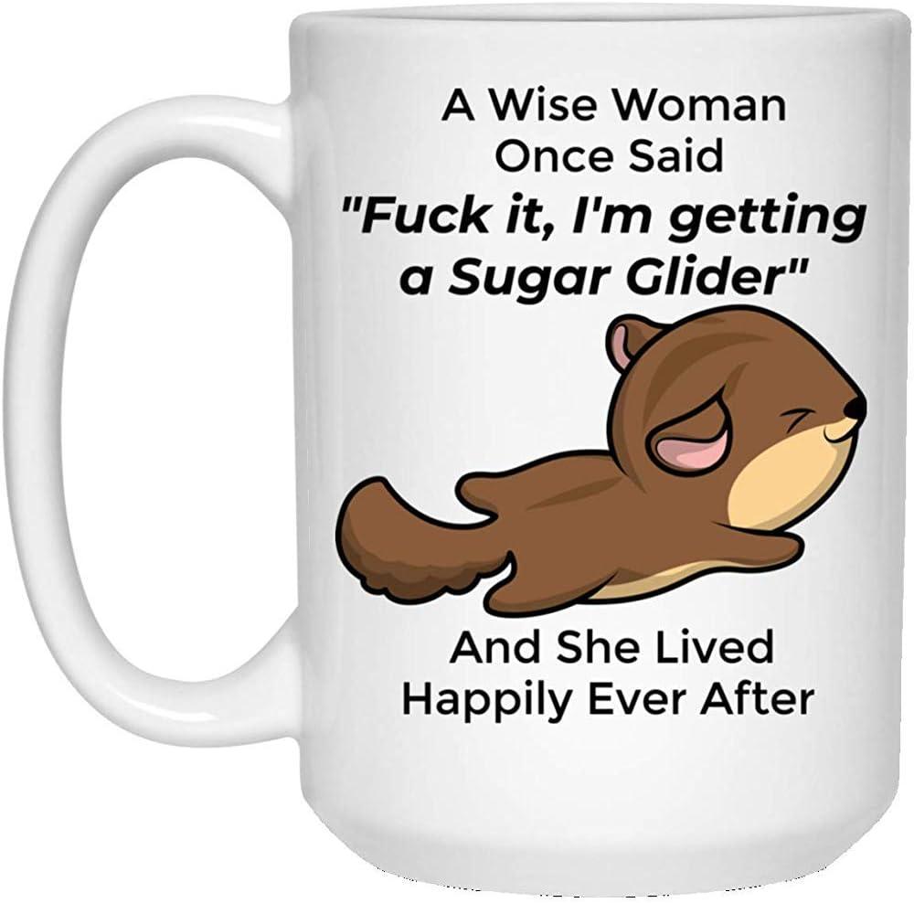 Regalos divertidos del planeador del azúcar para las mujeres taza de café con leche 11oz