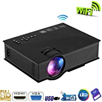 UNIC UC46 Wifi HD Mini Portable LED Home Cinema Projector [dpl]
