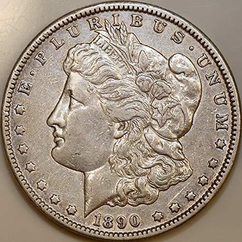 1890-O $1 Morgan Silver Dollar AU About Uncirculated