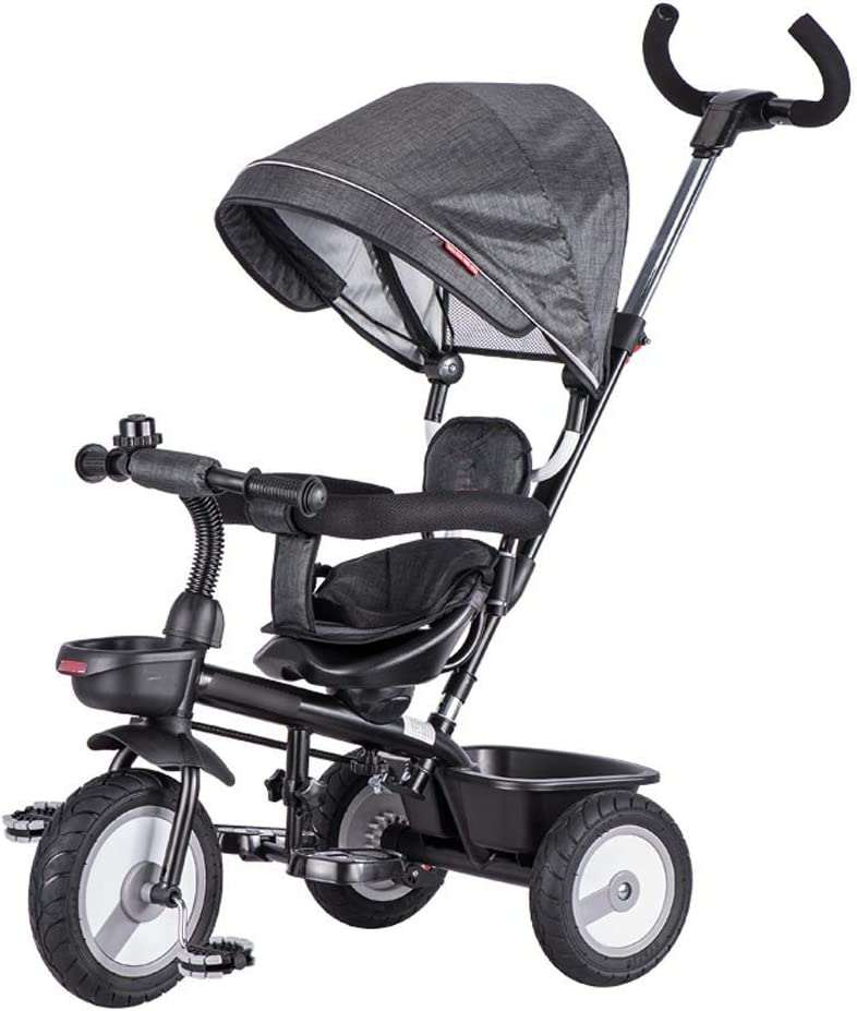 WJY Carro, Comedor Coche Carro médico Cena Triciclo para niños Bicicleta 1-3 años Cochecito de bebé 2-6 Bebé Bebé Niño 3 ruedas Carro de bebé grande,yo