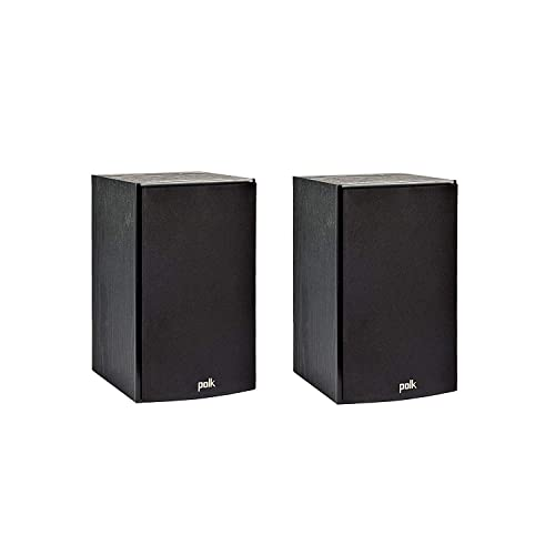 Polk Audio T15 Bookshelf Speakers Pair Black