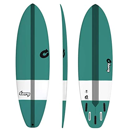 Tabla de Surf Torq epoxy Tec bigboy23 7.6 Green FUN tarjeta mini Malibu