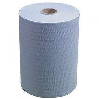 SCOTT* SLIMROLL Toallas Secamanos 6658 - 6 rollos x 165 m de color azul y