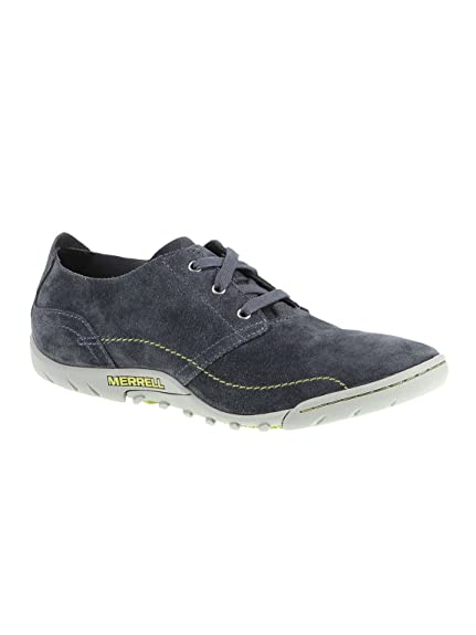 50fde13027b Merrell Sector Cliff Leather Laces Shoes - Man blue Size  6.5 ...
