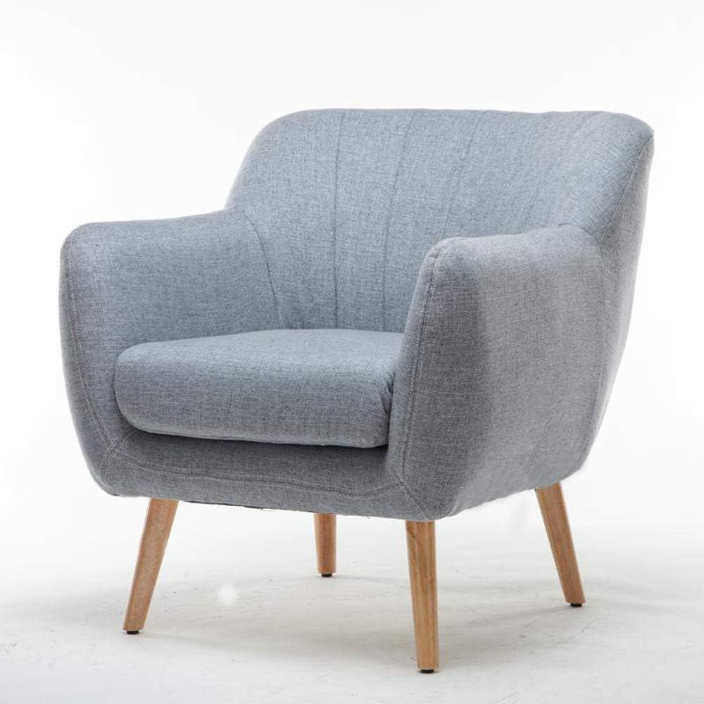 Amazon.com: Armchair Single Modern Small Sofa Balcony Bedroom Mini