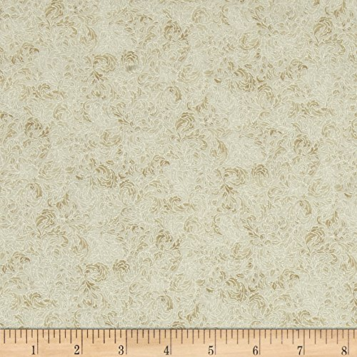 nt Pearl Floral Bone Fabric By The Yard (Robert Kaufman Fusions)