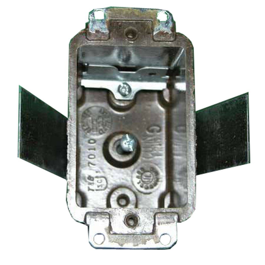 Marinco 6079 Marine Plastic Switch or Outlet Box for TV or Phone Outlets (PJ2121 or PJ2161)