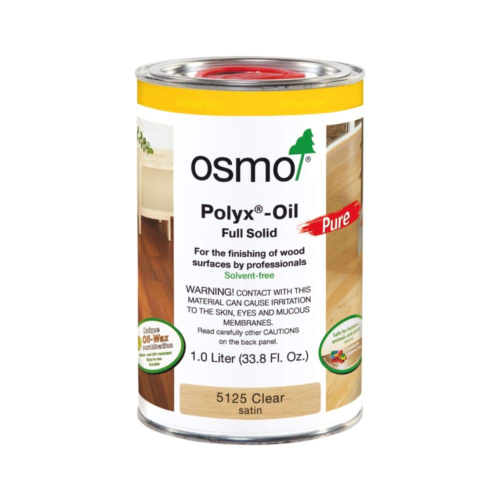 Osmo - Polyx-Oil Pure - 5125 Clear Satin - 1 liter