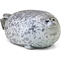 MerryXU Chubby Blob Seal Pillow,Stuffed Cotton Plush Animal Toy Cute Ocean Pillow Pets Small(13 in)