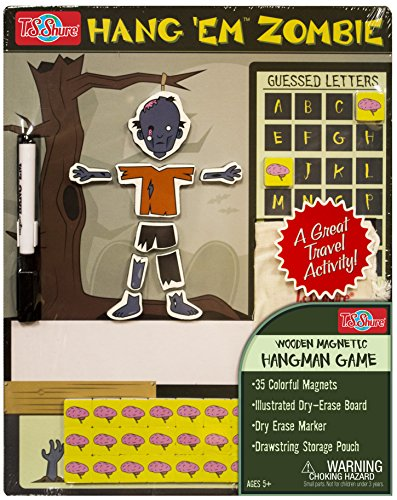 T.S. Shure Hang'em Zombie Wooden Magnetic Game Board by T.S. Shure