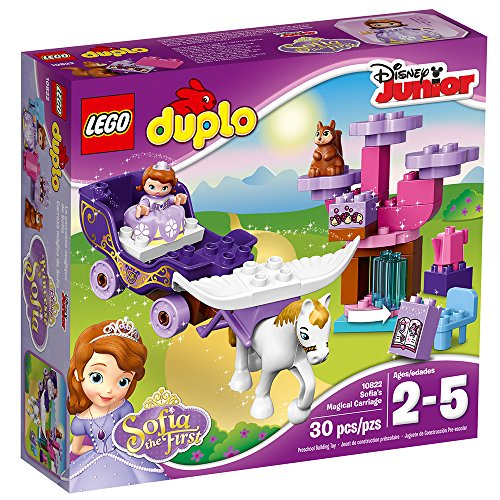 LEGO DUPLO l Disney Sofia the First Magical Carriage 10822 Large Building Block Toy for 2- to 5-Year-Olds JungleDealsBlog.com